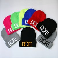 beanies dope - Fashion Designer Dope Beanies Hats For Men Women Winter Beanie Pom Knit wool Hip Hop Slouchy Caps