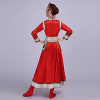 Wholesale The new Mongolian clothing dance clothing women s special ethnic minority costumes square dance grassland gown