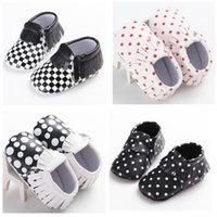 big boot sole - 2016 colorful Baby Girl Knit Faux Fleece Boot Soft Sole Kids Wool Baby shoes with big dot