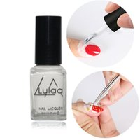 Wholesale New White Peel Off Nail Liquid Art Latex Tape Finger Skin Protected Liquid Palisade Easy Clean Base Coat Care Nail Polish