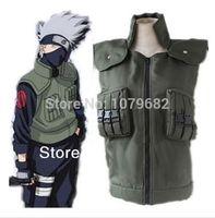 Wholesale Naruto Hatake Kakashi vest cosplay cotumes anime cosplay halloween costume Hot Sale Cosplay