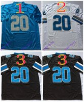 barry sanders jerseys - barry sanders Elite Football Jerseys Best quality Authentic Jersey Embroidery Logo Size M XL Can Mix Order