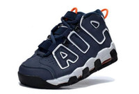 best fashion sneakers for women - 2016 AIR More Uptempo Scottie Pippen Basketball Shoes For Women Lover Fashion Best Price Blue White Top Quality Kids Trainers Sneakers