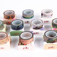 Wholesale quot Tune quot antique and paper tape hand account decorative stickers color paper tape diary roll m15mm