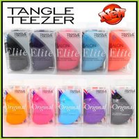 Wholesale Tangle Teezer Brush Comb Hairbrush Elite Original Two different Version Hair Care Styling Tools Detangling Handle Tangle Teezer Hairbrush