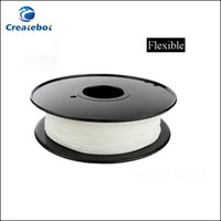 Wholesale Createbot MM mm Flexible Filament More Flexible And Environmental D Printer Material kg for D Printing