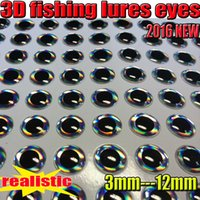 Wholesale 2016 new arrival D Fishing lure eyes fly eyes SIZE MM MM