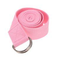 Wholesale New Multi Colors cm Yoga Belt Strap Waist Arms Leg Stretch Strap Pilates Belt Yoga Exercise Fitness Gym Rope Tool