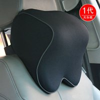 Wholesale Car headrest car supplies memory cotton head and neck neck protecting pillow pillow for vehicle interior products