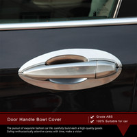 Wholesale High Quality Protective ABS Chrome Plating Door Handle Bowl Cover Trims set Car Styling Accessories for BMW X5