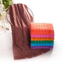 beach towel cheap - Cheap Cotton Towel Factory Direct High Quality Nine Color Optional Cotton Increase Thickening Bath Towel Beach Towel HY1242