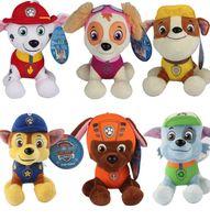 Wholesale 6PCS Patrol Toys Plush CM Cm Cartoon Plush Doll Dog Children Toy Puppy Dog Patrol Anime Figure Children Kids Boy Action Figure