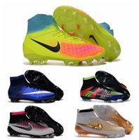 Wholesale 2016 Mens soccer shoes magista obra fg football boots magsita superfly soccer cleats mercurial superfly Original cr7 cristiano ronaldo Boot