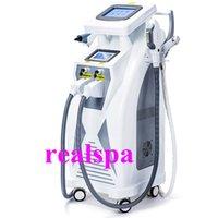 Wholesale 2016 New Coming Popular OPT SHR IPL Machine Painfree Permanent Hair Removal Skin Rejuvenation Pigment Therapy Laser Tattoo Removal Machine