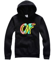 Wholesale New Fashion Men Odd future Hoodies Skateboard Men Sweatshirt odd future Shits Golf Wang Colors Casual Pullover Coat