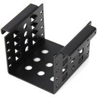 Wholesale 2 SATA SSD HDD Rack Trayless Metal Material Mobile Rack for Floppy Space In the Desktop