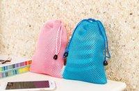 Wholesale Morden simple constraint pocket Draw string bag dustproof bag Sundry receive bag Digital products protection bag