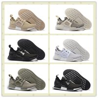 Wholesale High Quality Triple Black Pink NMD Runner PK XR1 Olive Boost Men Women Sports Running Shoes Cool Trainer Sneakers With Box Size US5