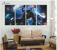 animations wall painting - Animation Cool The Future Warrior Wall Pictures For Living Room Panels Canvas Modern Decoration Canvas Oil