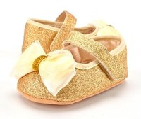 Cheap Baby shoes Princess shoe cut and lovely soft soled shoes sequins comfortable kid shoes Slip On Loafers