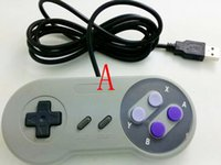 Wholesale Hot selling new arrive Classic Retro USB for SNES Controller Joypad Joystick For Super Nintendo SF SNES Windows PC MAC