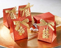 asia candy - 1603 wedding favor candy box Asia Theme quot Double Happiness quot Chocolates sweet party favor box