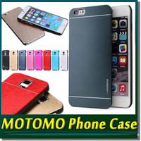Cheap For Apple iPhone Motomo Hard Case for iPhone 6S Best Metal Silver Motomo Case for iPhone 6S