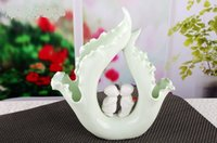 baby room decorations - Highly Quality Jingdezhen Ceramic Baby Home Decoration Mordern Style Arts and Craft Gift for Wedding Room
