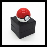 abs parts - 2016 New Pokeball Grinders pc Poke Metal Grinder mm Poke Ball Herb Grinder Zinc Alloy ABS Grinders Layer Parts Price