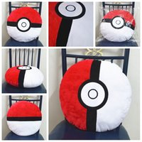 Wholesale PokéMon Go Decorative Cushion Pocket Monster Pillow Gift Cute ball Stuffed Toy Doll Poke Mon Go Christmas Gift Funny Plush Bolster Pillows
