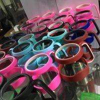 Wholesale DHL YETI Colorful Handles For YETI Rambler oz Tumblers RTIC SIC Cup Handles OZ Yeti Anti Slip Handle Christmas Gifts