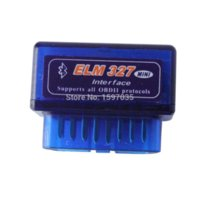 Wholesale High quality Mini elm327 v2 OBD2 Bluetooth Auto Scanner OBDII Car ELM Tester Diagnostic Tool for Android Windows Symbian