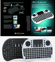 airs usb key - Mini i8 Air Mouse Game Keyboard Mini Wireless QWERTY Keys Keyboard English Keyboard Mouse Touchpad for PC Notebook Android TV Box HTPC