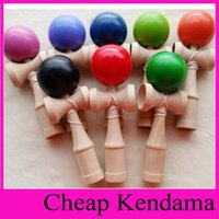 Wholesale DHL EMS ship Length CM Kendama Ball Japanese Traditional Wood Game Toy Kids Education Gifts many colors