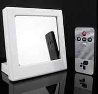 Wholesale Full HD x960 Mirror Clock Spy Camera DVR Motion Detection Video Recorder Covert Mirror Clock Hidden Camera Home Sercurity CCTV Cam
