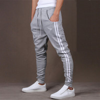 Wholesale 2016 New Men Sport Pants Outdoor Casual Pants Brand Clothing Hip Hop Trousers Army Tracksuit Sweat Pants Slim Fit Mens Joggers