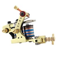 Wholesale Tattoo Machine Shader Liner Rotary Gun Colors Assorted Tatoo Motor Gun Grips Kits Cheap PriceZ00207