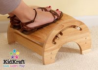 Wholesale ADJUSTABLE STEP STOOL FOR NURSING NATURAL WOODEN NON TOXIC