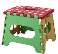Wholesale retail New Easy Foldable Step Stool chair hold Up to lbs for camping fishing kids folding seat