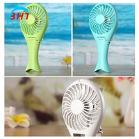 batteries for notebook - Mini Protable Rechargeable USB Fan Bendable Flexible Cooler Holding Hand Candy Colours Battery Operated For Notebook Laptop Computer