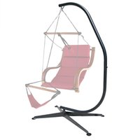 air chair stands - Hammock C Stand Solid Steel Construction For Hammock Air Porch Swing Chair New