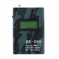 accurate radio - Accurate MHz GHz Portable Handheld Frequency Counter DCS CTCSS Radio Testing Frequency Meter Counter RK560