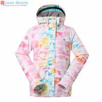 Wholesale Newest High Quality Ski Jacket Women Winter Fleece Softshell Hiking Suit Windbreak Skiing Mountain Clothing Coat