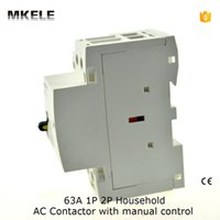 Wholesale MKWCT M WCT A Double Pole Household Electric AC Power Contactor A Uc230V With Manually Operated Contator