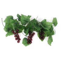 Wholesale Garden Decorative Green Artificial Grape Vine Ft Available for Shipment Exclusively within the U S