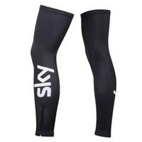 Wholesale 2016 Newest arrival Fashion SKY Outside Cycling Leg Waemer Polyester High Elastic Leg Warmer Cycling Protective Gear
