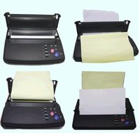 Wholesale maquiagem Tattoo copy machine lowest price black Tattoo copier thermal stencil copy Tattoo Stencil Transfer Machine black