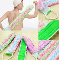 Wholesale Korean Style High Quality Long Bath Rubbing Bath Brush Towels Accessories