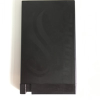 Wholesale New arrival hot sale material aluminum RFID blocking slim Credit Card ID Business Holder Wallet Black