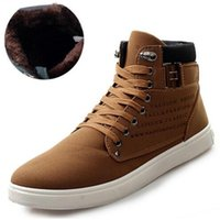 Cheap Autumn Winter Boots Lace Up Fashion Men Boots Ankle Motorcycle Boots For Men Fashion Sneakers Casual Shoes Size 39-44